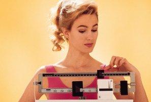 Стандартный вес у девушки