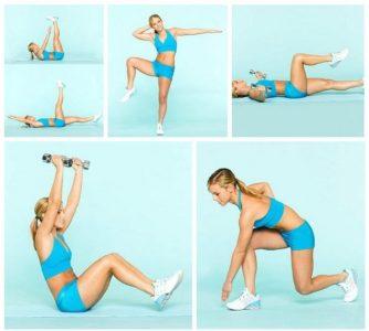 Простой комплекс упражнений